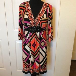 Trendy geometric dress 14